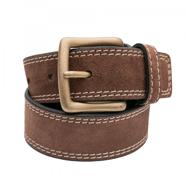 Themata Belt Aspen Suede Leather