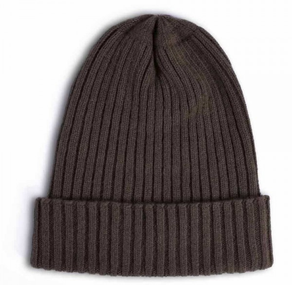 Stoltenberg knitted cap cashmere brown