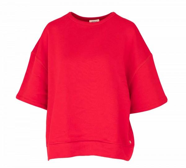 Ottod'Ame Sweatshirt Kurzarm Rosso