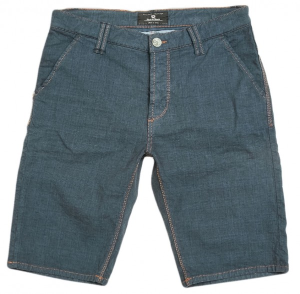 Blue de Gênes Paulo Checked Shorts