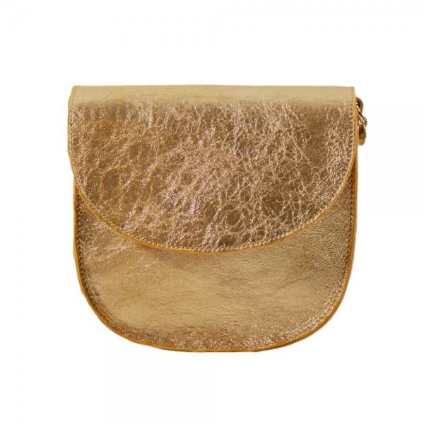 Craie bag mini luna poudre or