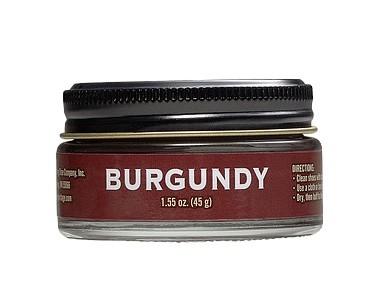 Red Wing Boot Cream Burgundy