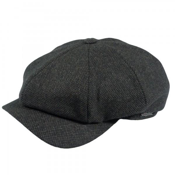 Wigens Newsboy Cap Oliv-Khaki