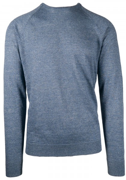 Phil Petter Linen knitted Sweater Blue