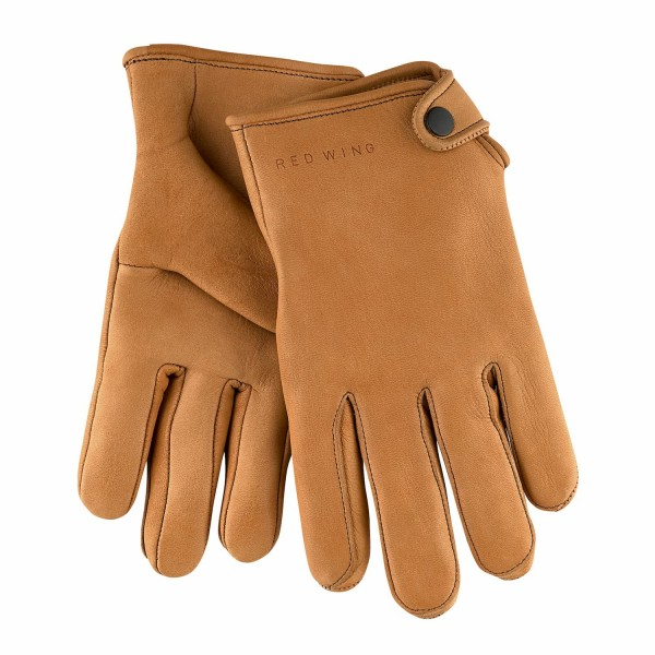 Red Wing Driver Gloves Cognac