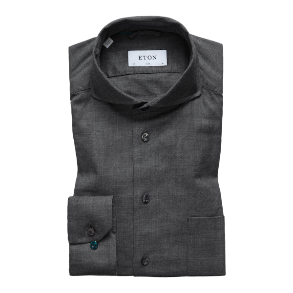 Eton brushed Cotton Shirt