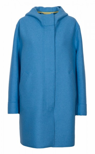 Harris Wharf coat light blue