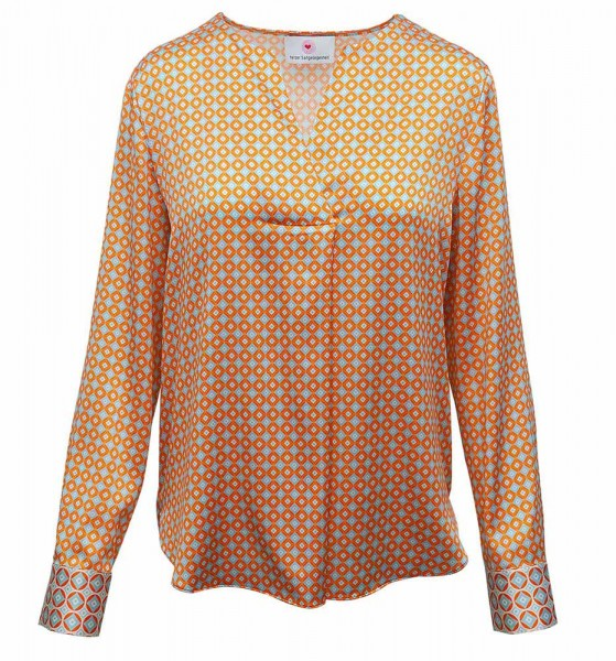 herzen's angelegenheit silk blouse retro