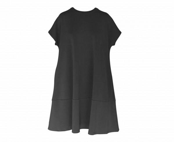 Sold Out Sweatkleid Shirt-76 Schwarz