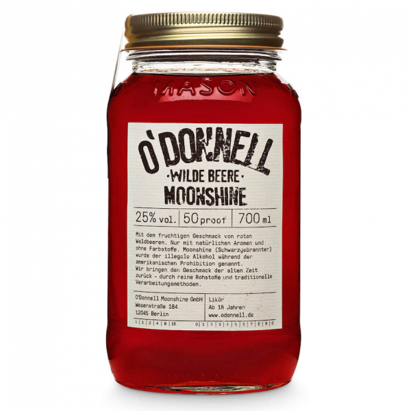 O'Donnell Moonshine wild berry
