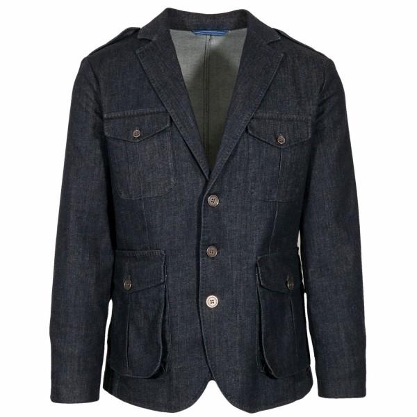 Borelio Slack Jacket Vector Denim
