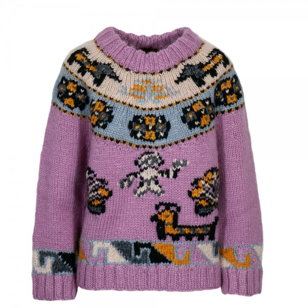Happy Sheep knitted sweater
