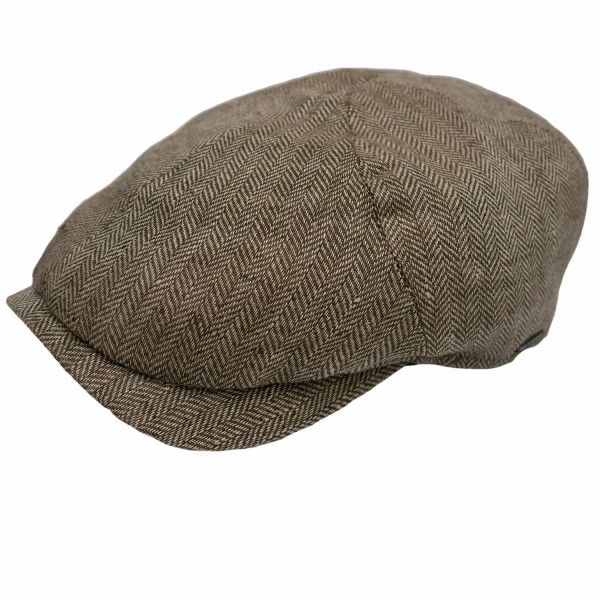 Wigens Newsboy Slim Cap Olive