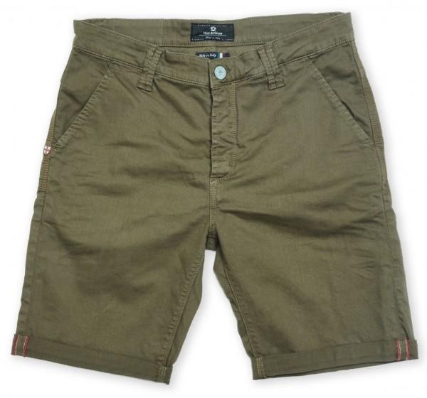 Blue de Gênes Paulo Pavia N12 Shorts Green Piquant
