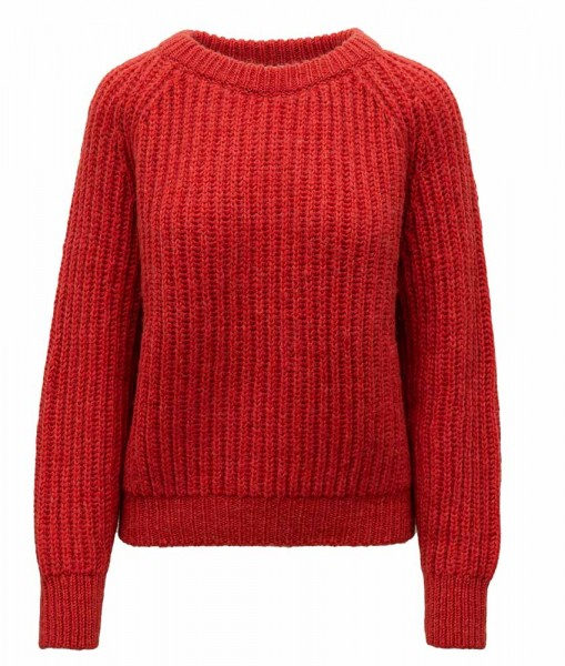 HMK Knitted Sweater Red