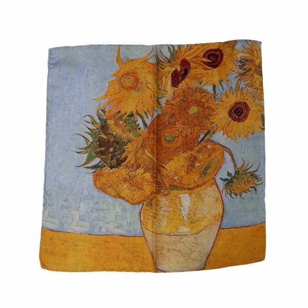 Einstecktuch Van Gogh Sonnenblumen