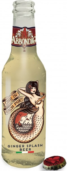 Abbondio Ginger Splash Beer Tonic Water