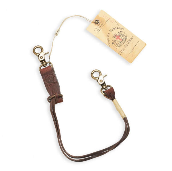 Blue de Genes Savino Key Hanger Brown