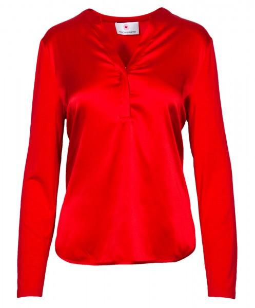 Herzensangelegenheit Silk Blouse Red