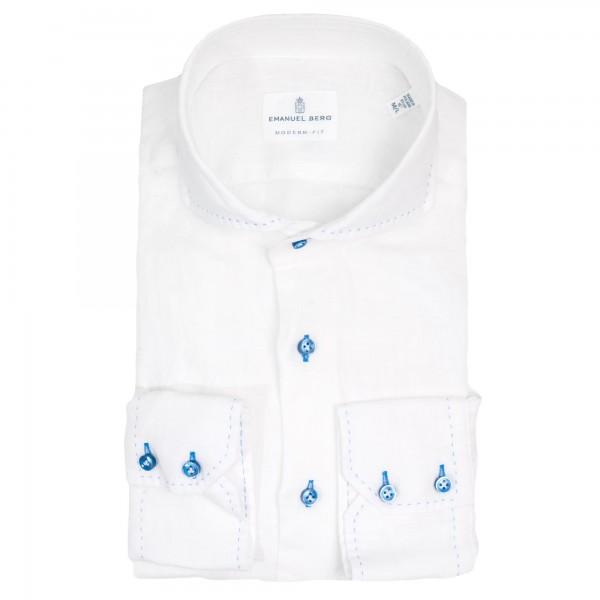 Emanuel Berg linen shirt Modern Fit