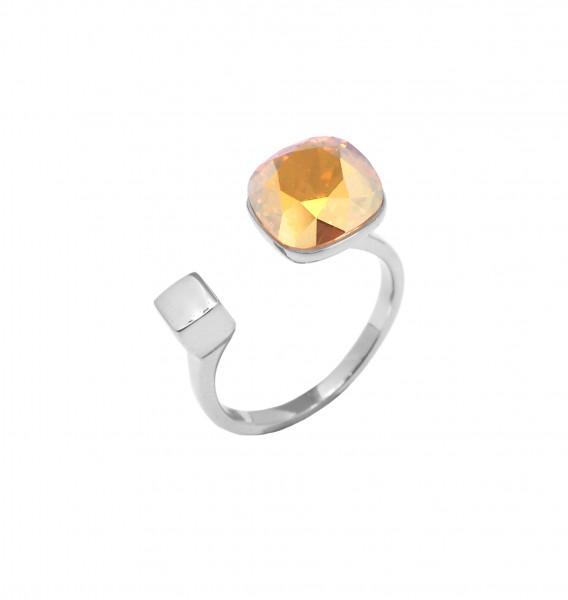 Bohm Paris Ring Silber Metallisch Sonnenschein