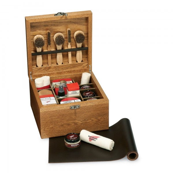 Red Wing Shoes Wood Care Box