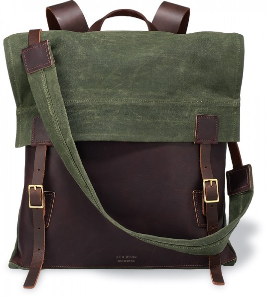 Red Wing Shoes Canvas Rucksack