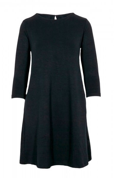 Sold Out Short Sleeve Sweat Dress Black