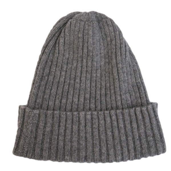 Stoltenberg knitted cap cashmere grey