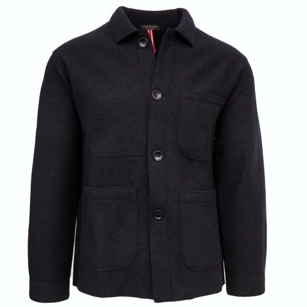 Phil Petter Knitted Worker Jacket