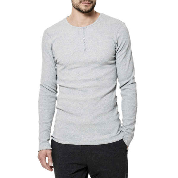 Bread & Boxers Long Sleeve Henley
