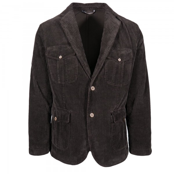 Borelio Slack Jacket Vector Corduroy