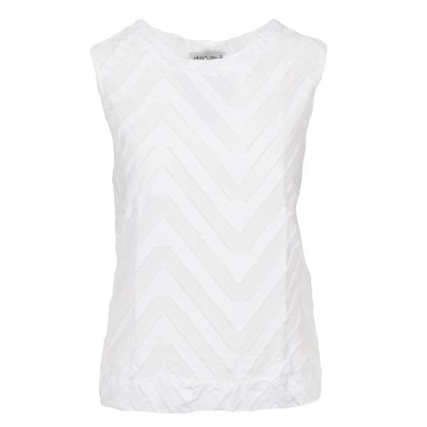 Shirt no.2 Top Weiß