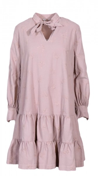 Caliban corduroy dress pink