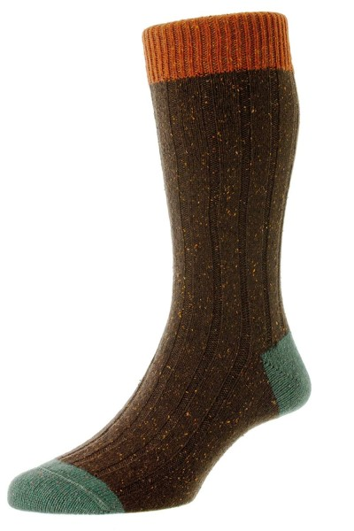 Scott-Nichol Tweed Socken Thornham
