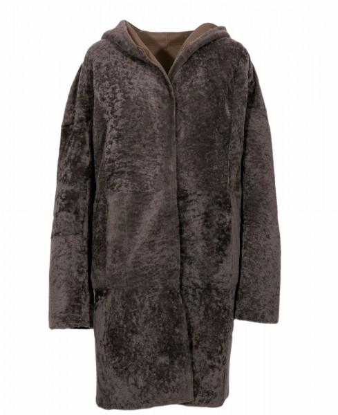 Steven K coat Astragan
