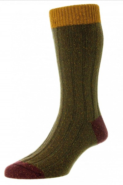 Scott-Nichol Tweed Socken Thornham