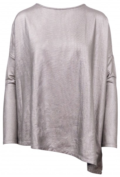 Majestic Shirt Silber-Metallic