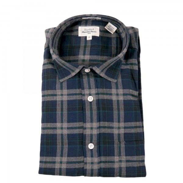 Hartford Shirt Storm Flannel