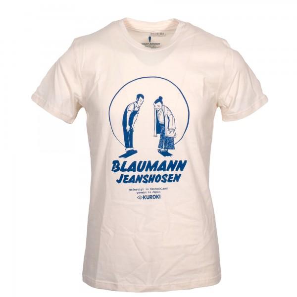 Blaumann T-Shirt Verbeugung