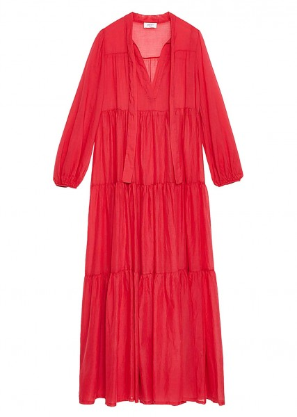 Ottod'Ame Kleid Rot