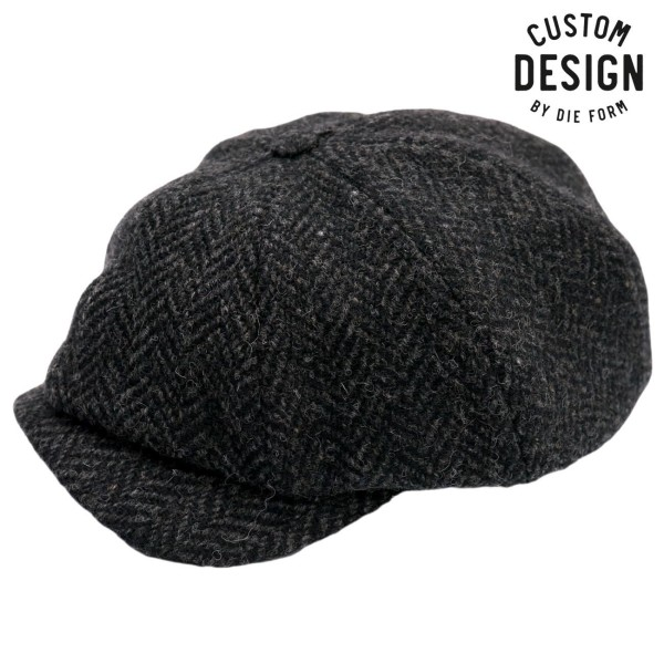 Wigens Newsboy Classic Cap Anthracite
