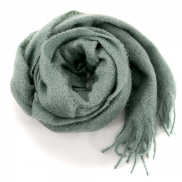 Altea woolen scarf green grey