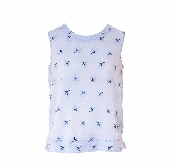 Shirt no.2 Top Blau