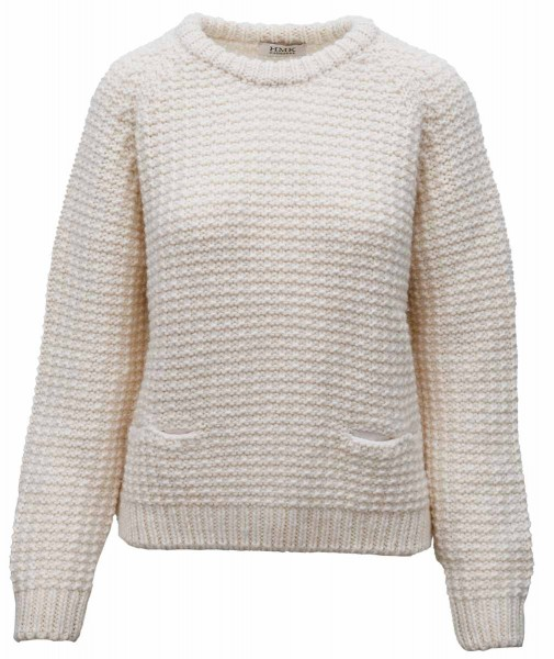 HMK Knitted Sweater Natur