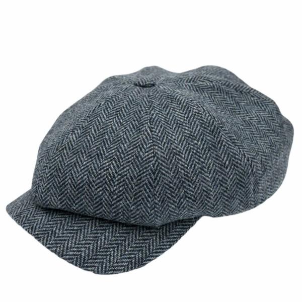 Wigens Newsboy Cap Hellblau