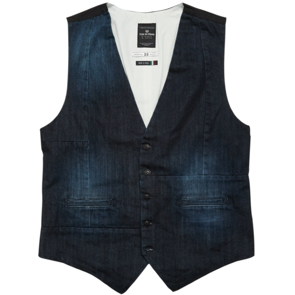 Blue de Gênes Aero Denim Blue Gillet