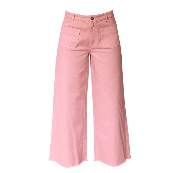 Ottod`Ame Wide-High Jeans Rose