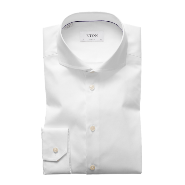 Eton Super-Slim Hemd Signature Twill