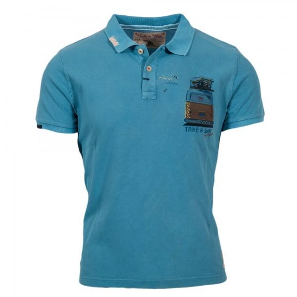 Take a Way Polo Shirt light blue